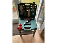 Bosch portable workbench with accessories