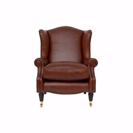 Laura Ashley Leather Southwold Armchair £450