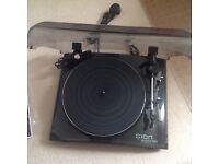 Ion Audio Profile LP Turntable with USB Conversion Black
