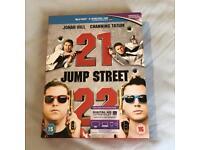 21 & 22 Jump Street Blu Rays