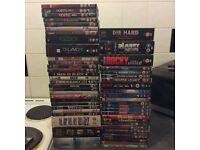 Job lot DVDs & boxsets