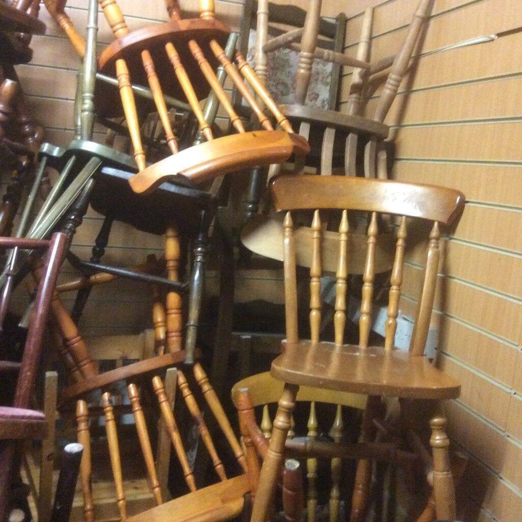 Odd Pine chairs