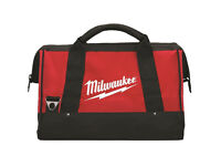 "Milwaukee M18 16"" Canvas Contractors Heavy Duty Carry Tool Bag"