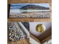 Surf in Donegal Ireland - Limited Edition Canvas Photo Print Wallart - Perfect Christmas Gift