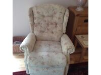Small electric recliner.