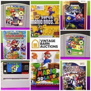 Video Game Liquidation, Nintendo, NES, Mario, PlayStation, Wii, Xbox, Zelda, Super Nintendo, Atari, Game boy, Sega