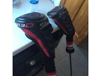 Titleist 913D driver and 913F 3 wood