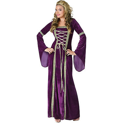 Adult Sexy Guinevere Renaissance Lady Maid Marian Costume