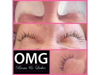 Classic Lashes only £15 for September