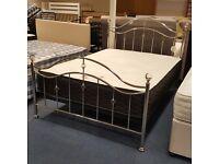 Colima 4' 6' metal bed frame