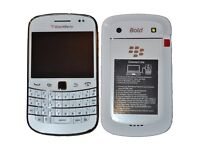 BLACKBERRY BOLD 9900 RDV71UW WHITE 8GB FACTORY UNLOCKED 3G SIMFREE CELL PHONE