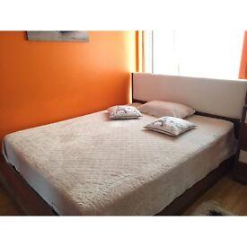 Dogtas King Bed Frame & Mattress With Storage