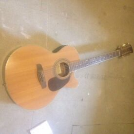 Brunswick 12-string acoustic guitar in good condition