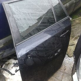 Bmw e61 Msport carbon black rear door complete