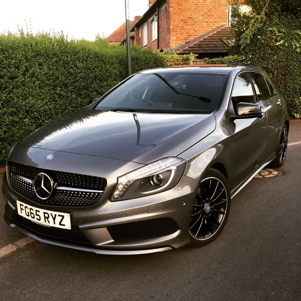mercedes benz a class a200 amg line night edition fully automatic in stapleford. Black Bedroom Furniture Sets. Home Design Ideas