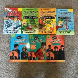 Selection of Hank Zipzer Books