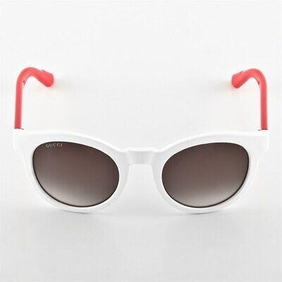 Gucci Wayfarer Sonnenbrille GG3653/S 19IK8 Matt Weiß, Neon Fuchsia