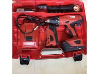 HILTI SFH-22a (22v) and 2 battery excellent condition