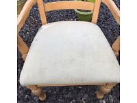 Two Carver Dining Chairs