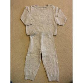 M&S Jogging suit size 6-9months