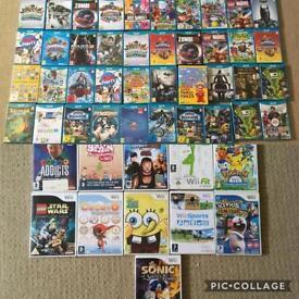 40 Wii U Games + 11 Wii Games