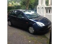 Ford Fiesta 1.3 low mileage