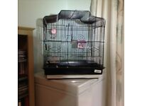 Bird cage for budgie or cockatiel