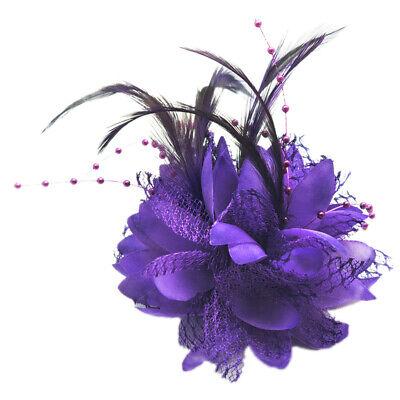 lower Für Corsage, Brosche, Handgelenk, Fascinator DIY lila (Diy Handgelenk Corsage)