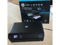 HP Envy 4500 all-in-one Wireless Colour Printer (Like new and boxed).