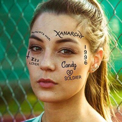 Lil Xan Temporary Tattoos Pack / Lil Xan Face Tattoo / Lil Xan Halloween - Costume Tattoos