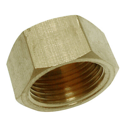 16mm Brass Pipe Cap Water Pipe For Plumbing Hardware Hotcold Water Supply