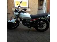keeway 125cc strike motorbike motorcycle bike