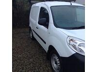 Renelt kangoo van side loading door white in colour as new