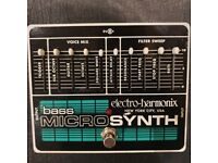 Bass synth pedal - Electro-harmonix micro bass synth