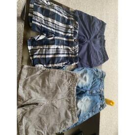 4 pairs boys shorts 5-6 years £3