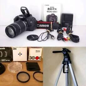 Canon 600d & Accessories