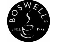 Cafe Team Members at Boswells Cafe, Chippenham - Full time (Incl Weekdays & Weekends)