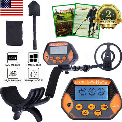 Lcd Display Underground Metal Detector With Waterproof Search Coil With Shovel