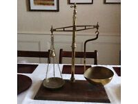Antique avery brass scales