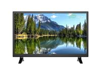 "Seiki SE28HO02UK 28"" Smart LED 720p HD Ready Freeview HD TV Black Brand New"