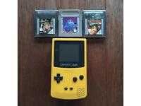 Game Boy Colour + 3 classic games