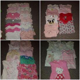0-3 girl clothes bundle