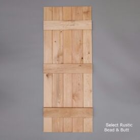 Solid Oak Internal Doors - Select Rustic Grade - Free Delivery!