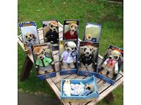 9 NINE GENUINE MEERKATS ALL BOXED WITH CERTIFICATES