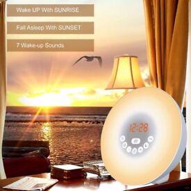 Multi-Function Digital Alarm Clock Lamp Touch Control AM/FM