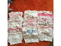 Bundle of 0-3 months baby girls clothes