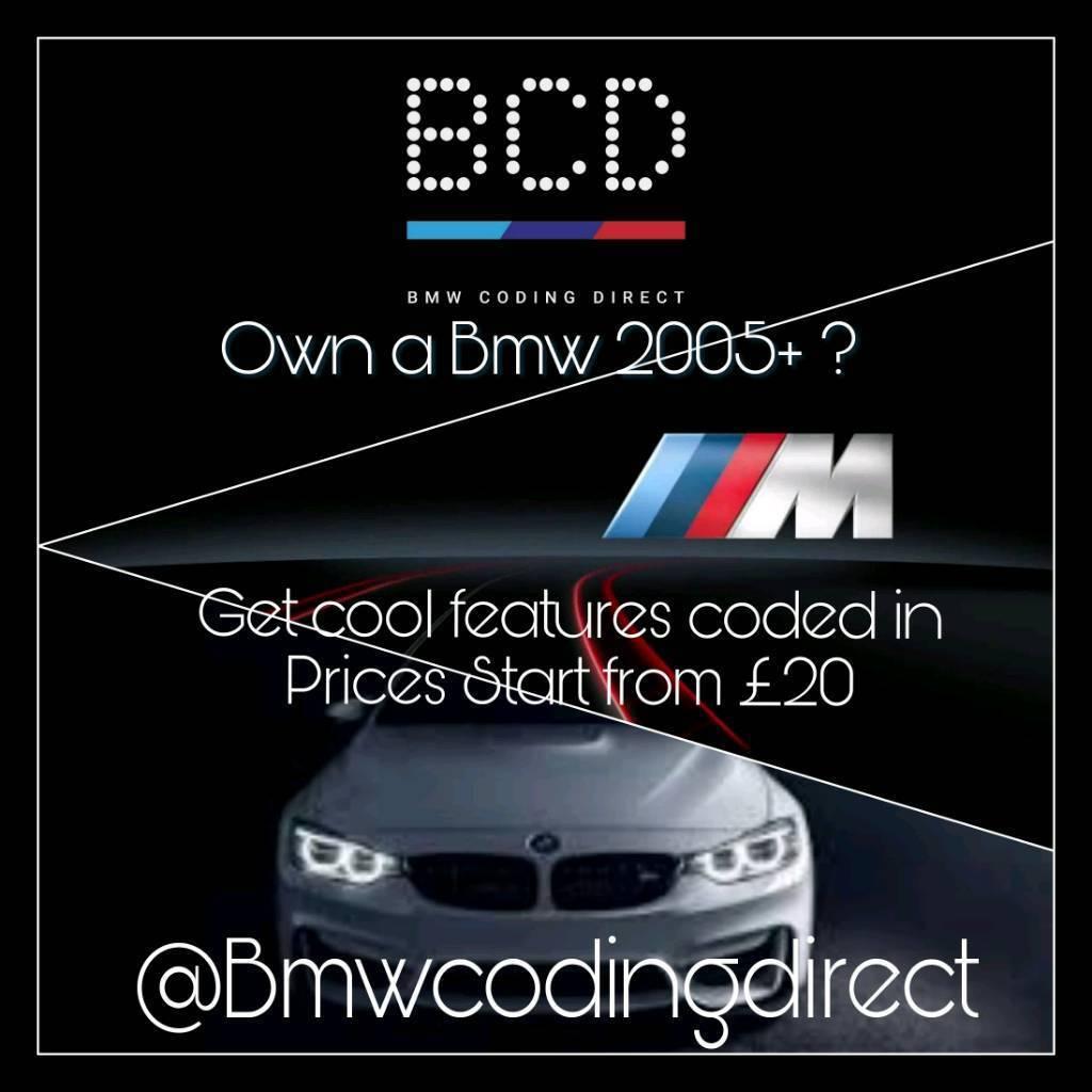 BMW CODING CODES UNLOCK FEATURES F SERIES F30 F32 F06 F20 F22 F46 F10 E90  E92 | in Aldgate, London | Gumtree