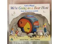 We're going on a bear hunt - book, DVD and game