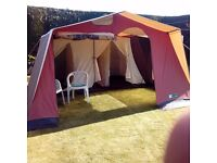 Large continental tent