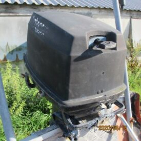 BOAT OUTBOARD JOHSON 40HP LONG SHAFT PROJECT ENGINE TURNS OVER